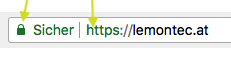 So erkennen Sie Ihr SSL Zertifikat im Google Chrome-Browser