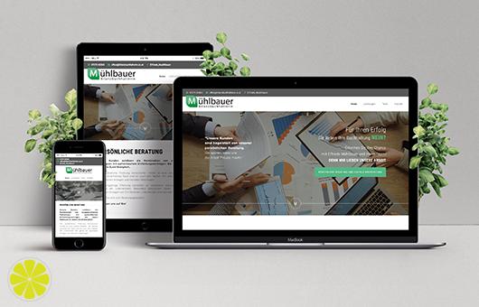Die Website von Buchhaltung Mühlbauer ist online!