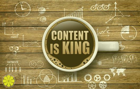 Content is King bei LEMONTEC!